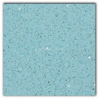 Gulfstone Quartz Aquamarine sparkly mirror tile in 15x7.5cm