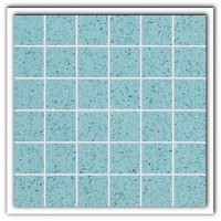 Gulfstone Quartz Aquamarine sparkly mirror tile in 4.7x4.7cm