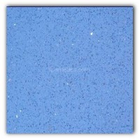 Gulfstone Quartz Classic blue sparkly mirror tile in 90x90cm