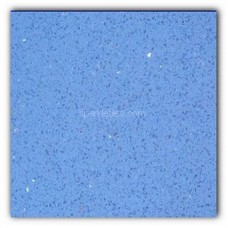 Gulfstone Quartz Classic blue sparkly mirror tile in 15x15cm
