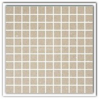 Gulfstone Quartz Essel beige sparkly mirror tile in 2.5x2.5cm