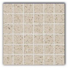 Gulfstone Quartz Essel beige sparkly mirror tile in 4.7x4.7cm