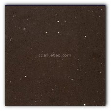 Gulfstone Quartz Mocha brown sparkly mirror tile in 30x60cm