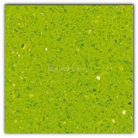 Gulfstone Quartz Salalah lime sparkly mirror tile in 15x7.5cm