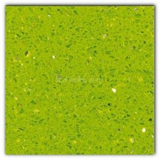 Gulfstone Quartz Salalah lime sparkly mirror tile in 40x40cm