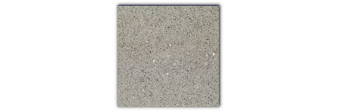 Silver grey sparkly tile
