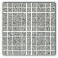Gulfstone Quartz Silver grey sparkly mirror tile in 2.5x2.5cm