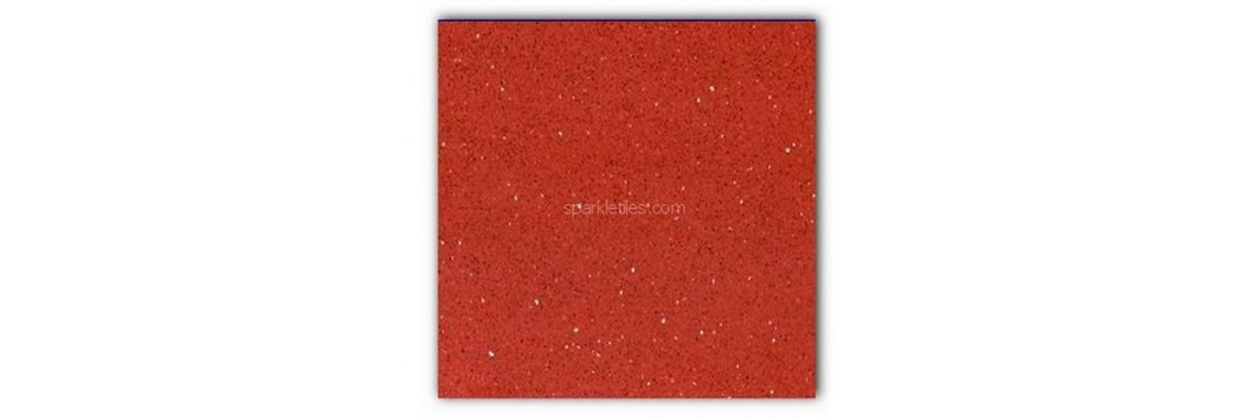 Rosso red sparkly mirrors